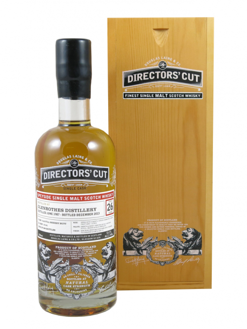 Glenrothes 26 Year Old 1987–2013 Directors' Cut