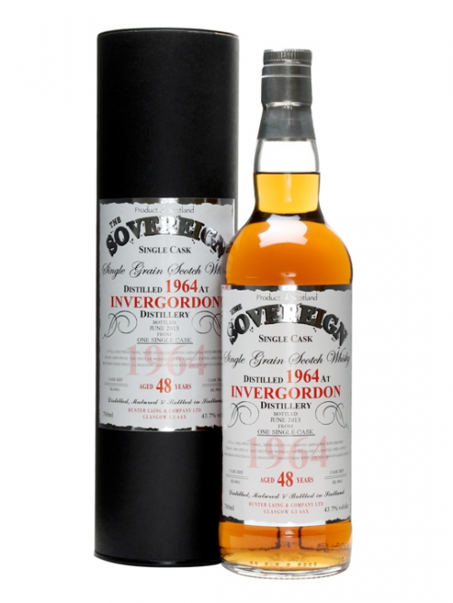 Invergordon 48 Year Old 1964–2013 Hunter Laing The Sovereign