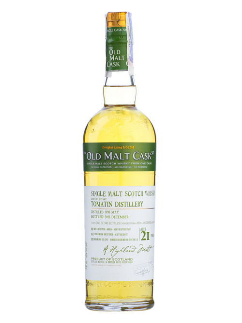 Tomatin 21 Year Old 1990–2012 Old Malt Cask