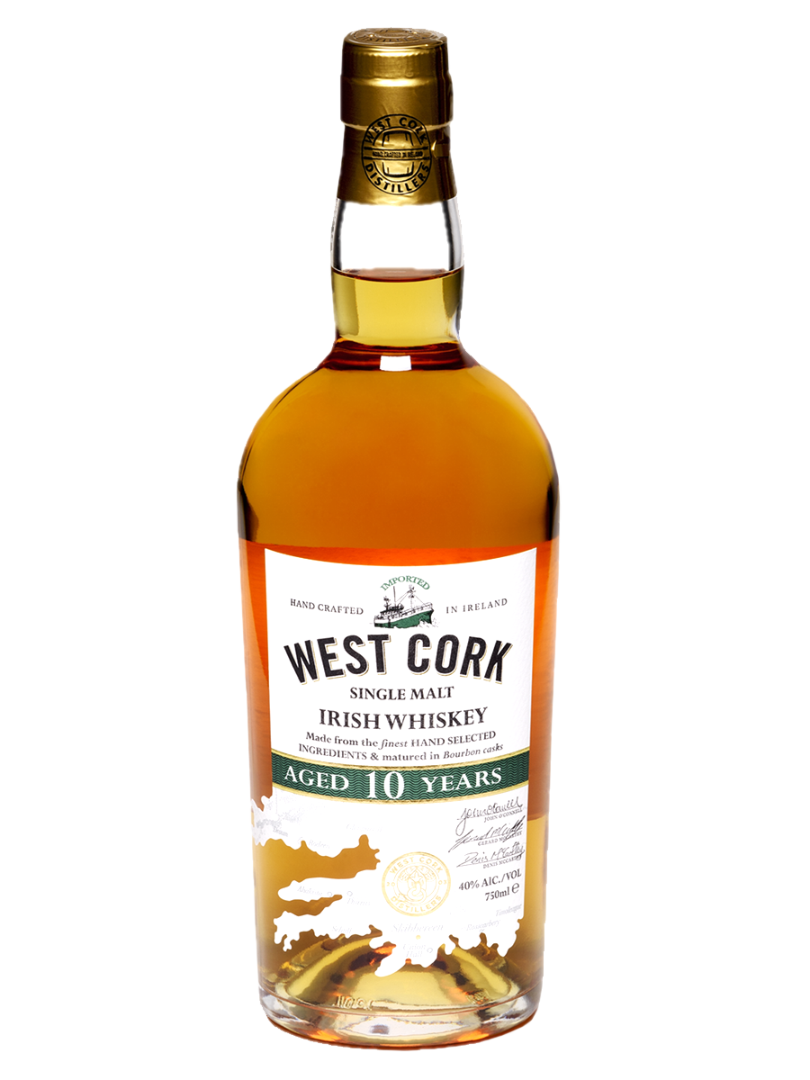 WEST CORK 10 YEARS single malt