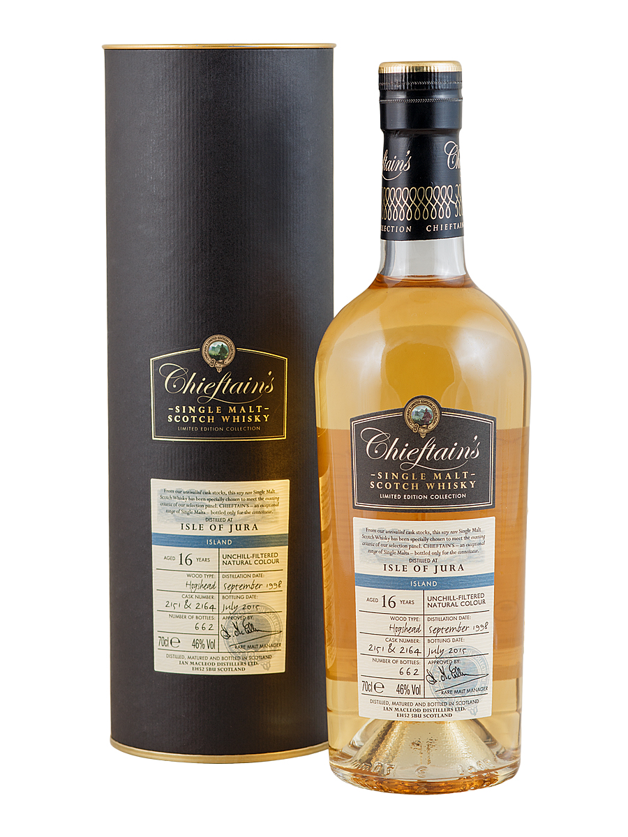 ISLE OF JURA 16 YEARS 1998-2015 CHIEFTAIN'S single malt