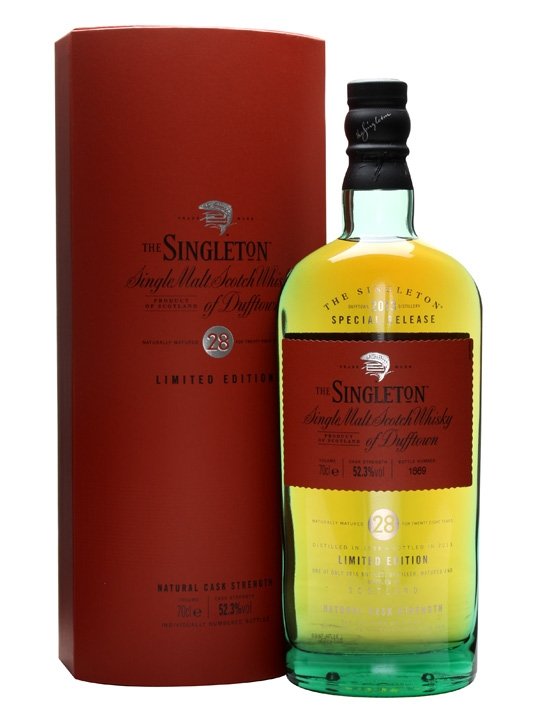 SINGLETON OF DUFFTOWN 1985 28 YEARS