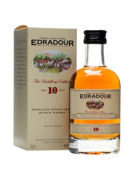 EDRADOUR 10 YEARS SMALL BOTTLE