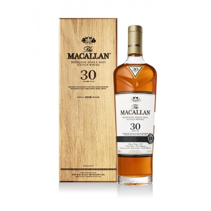 MACALLAN 30 YEARS SHERRY OAK 2018