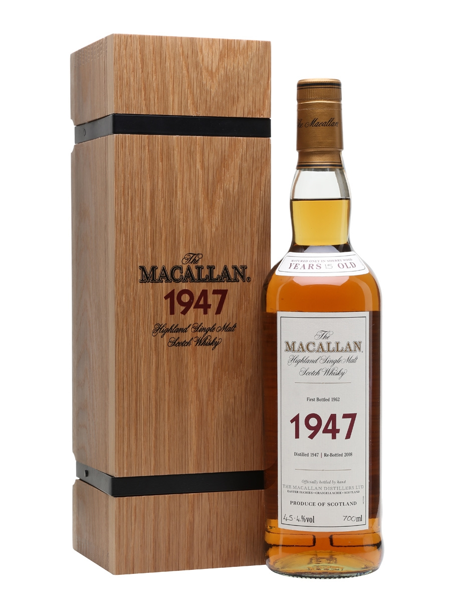 MACALLAN 1947 15 YEARS FINE & RARE