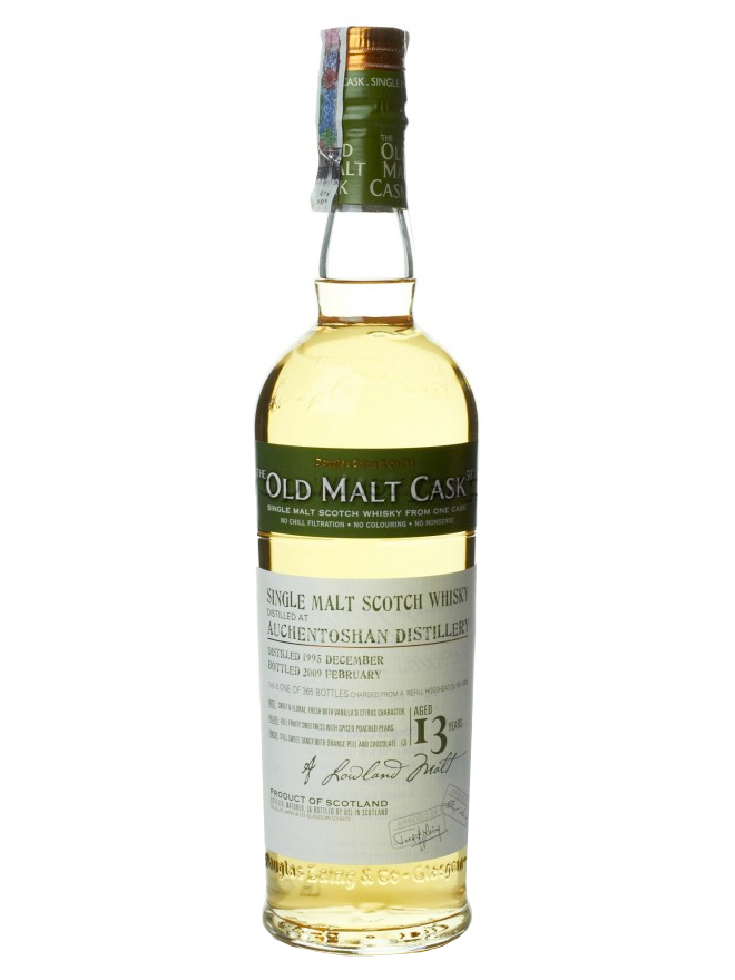AUCHENTOSHAN 13 YEAR 1997 OLD MALT CASK SINGLE MALT