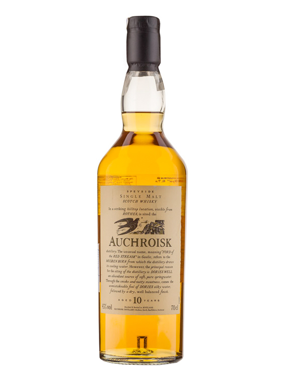 AUCHROISK 10 YEAR FLORA&FAUNA   SINGLE MALT