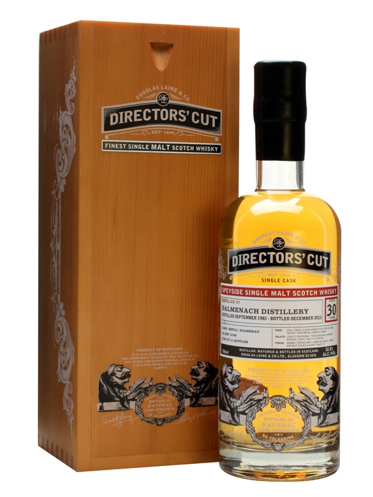 BALMENACH 30 YEAR 1983 DIRECTORS CUT SINGLE MALT
