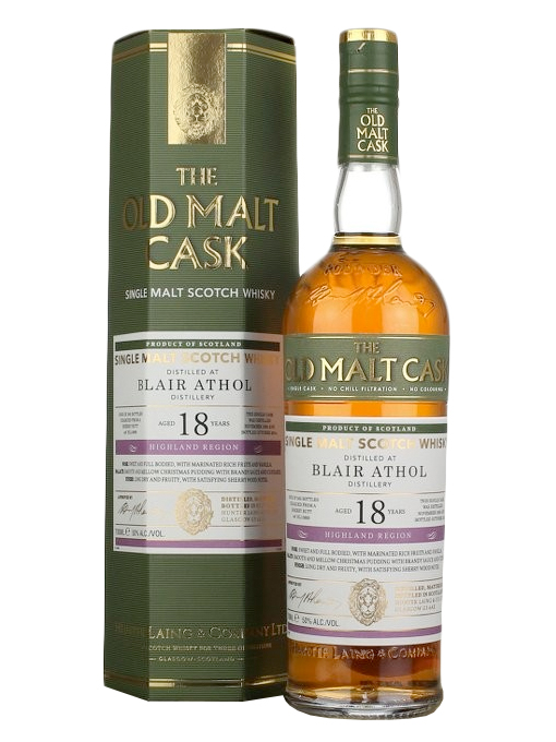 Blair Athol 18 Year Old 1989–2008 Old Malt Cask