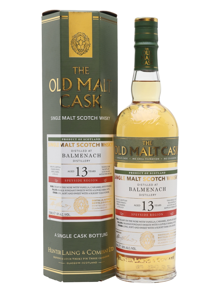 BALMENACH 13 YEARS 2004-2018 OMC single malt