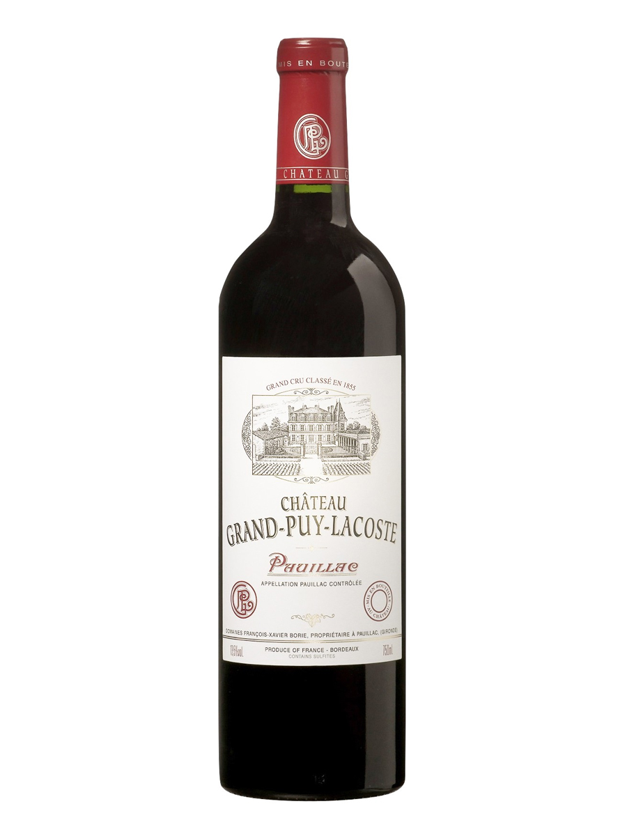 CHATEAU GRAND PUY LACOSTE  5-ME CRU  1998 0,75 RED