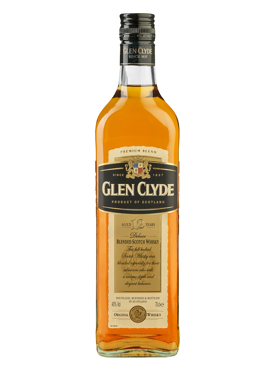 GLEN CLYDE 12 YEARS blend