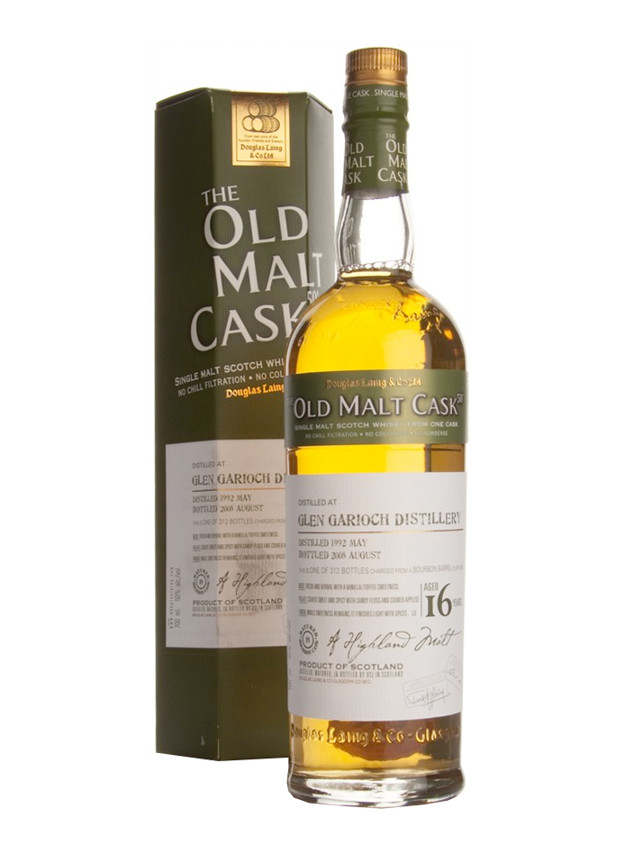 GLEN GARIOCH 16 YEAR OLD 1992 OLD MALT CASK SINGLE MALT