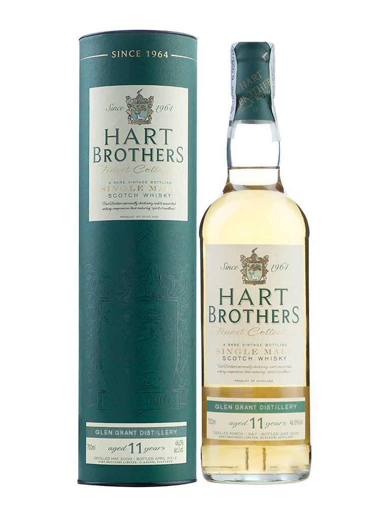 GLEN GRANT 11 YEARS 1997-2009 HART BROTHERS single malt