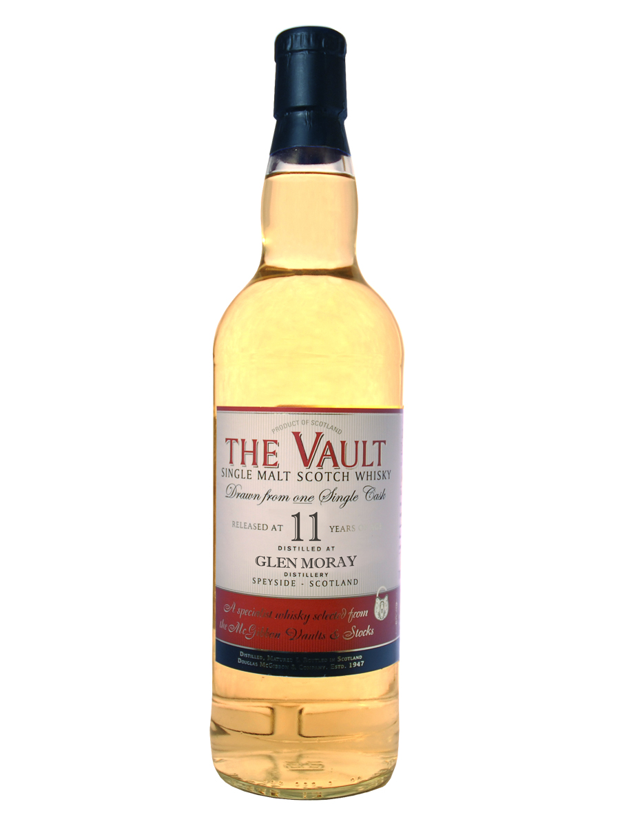 GLEN MORAY 11 YEAR 2002 - 2013 VAULT  SINGLE MALT