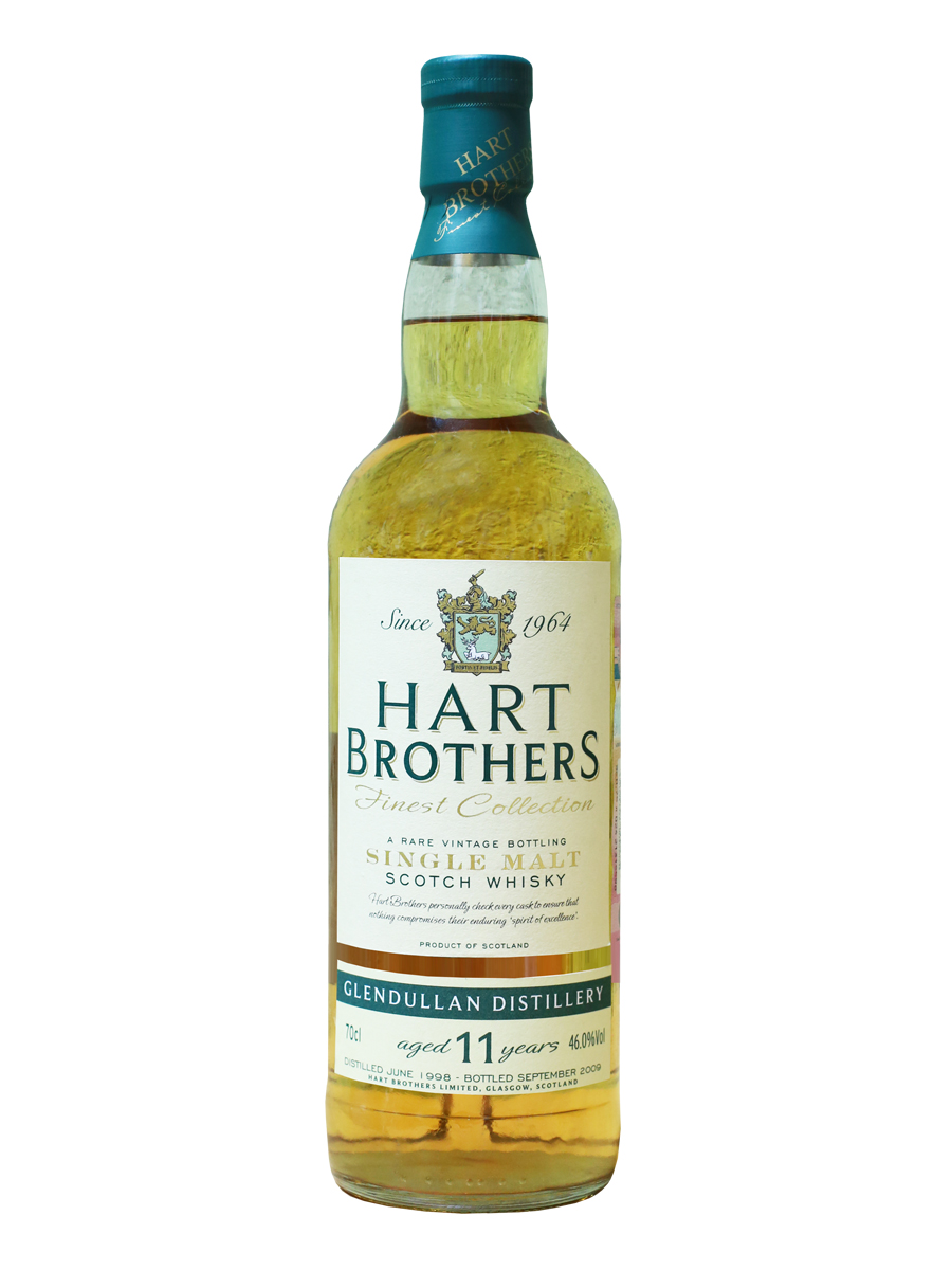 GLENDULLAN 11 YEAR 1998 - 2009 HART BROTHERS  single malt