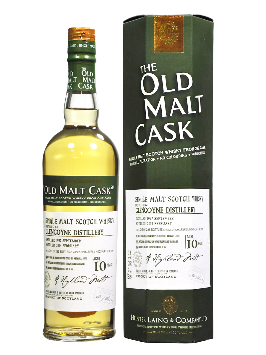 GLENGOYNE 10 YEAR 1996 OLD MALT CASK SINGLE MALT