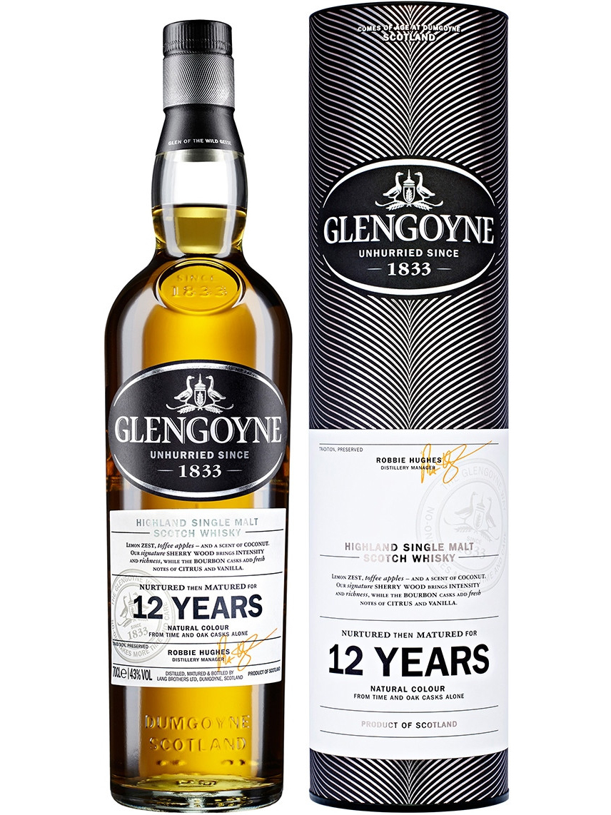 GLENGOYNE 12 YEARS single malt