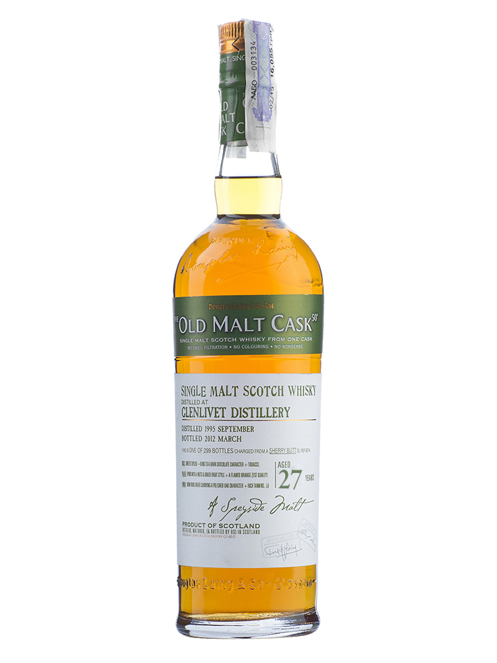 GLENLIVET 27 YEARS 1980-2007 OMC single malt