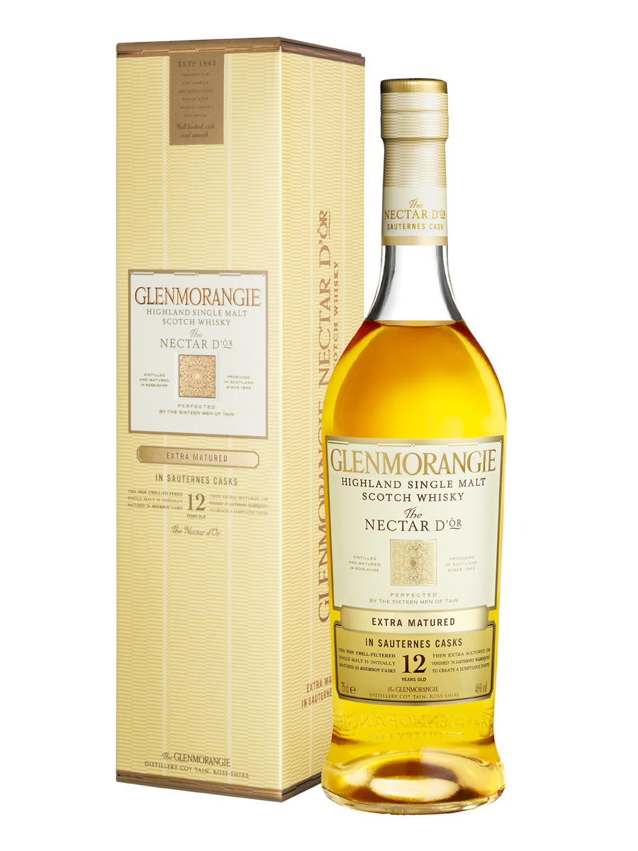 GLENMORANGIE 12 YEARS NECTAR D'OR single malt