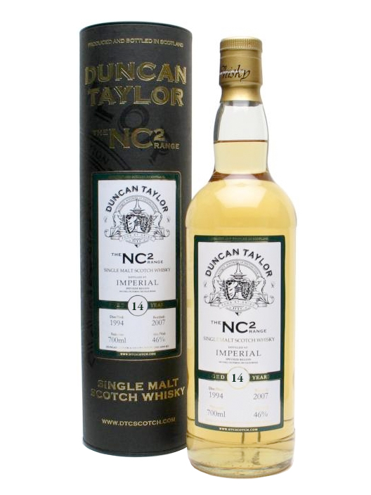 IMPERIAL 14 YEARS 1994-2008 NC2 single malt