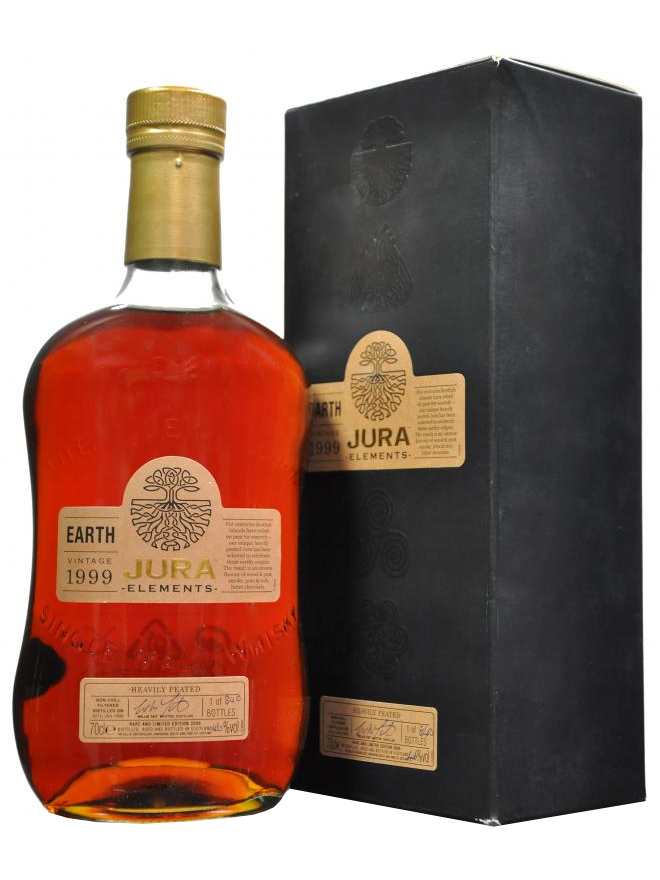 ISLE OF JURA ELEMENTS 1999 - 2008 EARTH VINTAGE