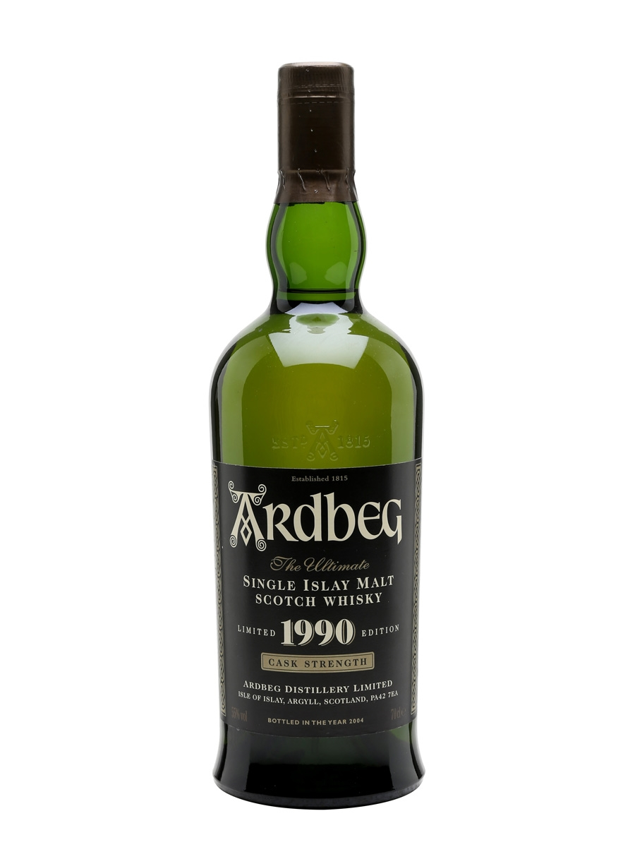 ARDBEG 1990 CASK STRENGTH LIMITED EDITION