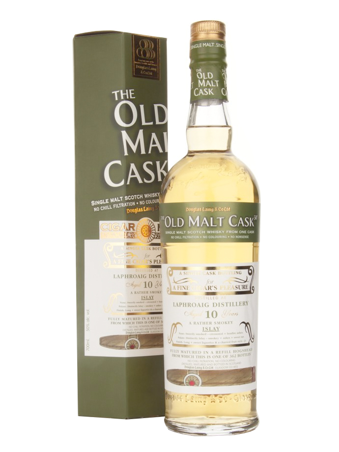 LAPHROAIG 10 YEAR 2001 OLD MALT CASK SINGLE MALT
