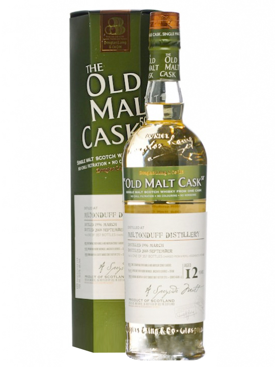 MILTONDUFF 12 YEARS 1996-2008 OMC single malt