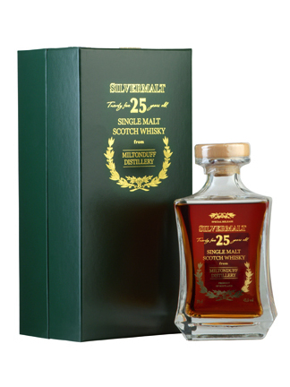MILTONDUFF 25 YEAR 1986 - 2011 SILVERMALT  SINGLE MALT