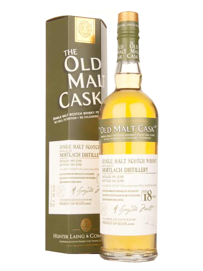 MORTLACH 18 YEARS 1995-2013 OMC single malt