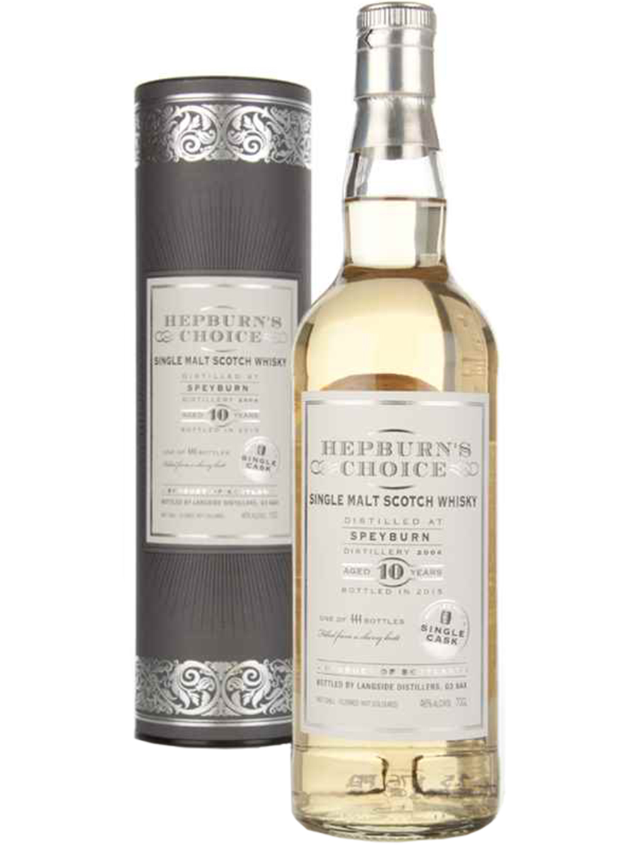 SPEYBURN 10 YEARS HEPBURN'S CHOICE single malt