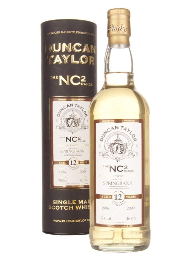 SPRINGBANK 12 YEARS 1996-2008 NC2 single malt