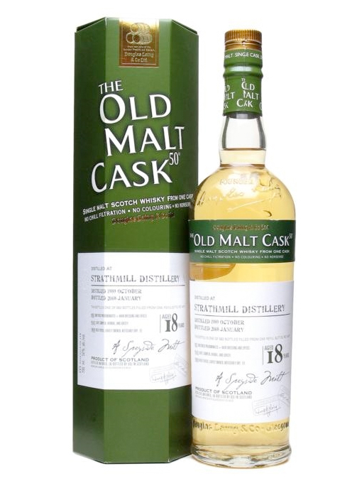 STRATHMILL 18 YEAR 1989 - 2007 OLD MALT CASK  SINGLE MALT