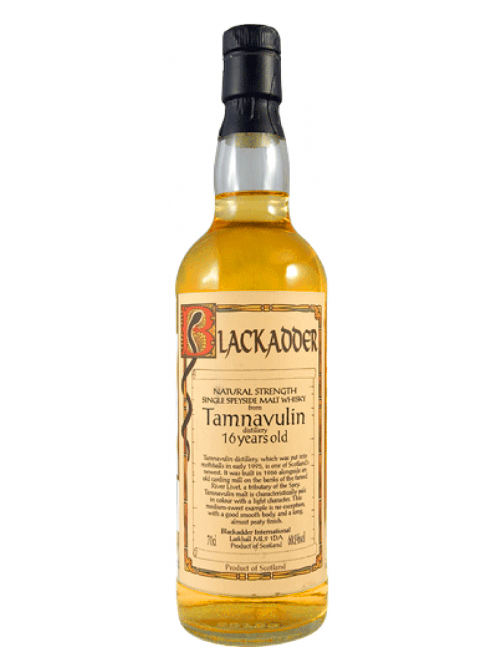 TAMNAVULIN 16 YEARS 1995 BLACKADDER single malt