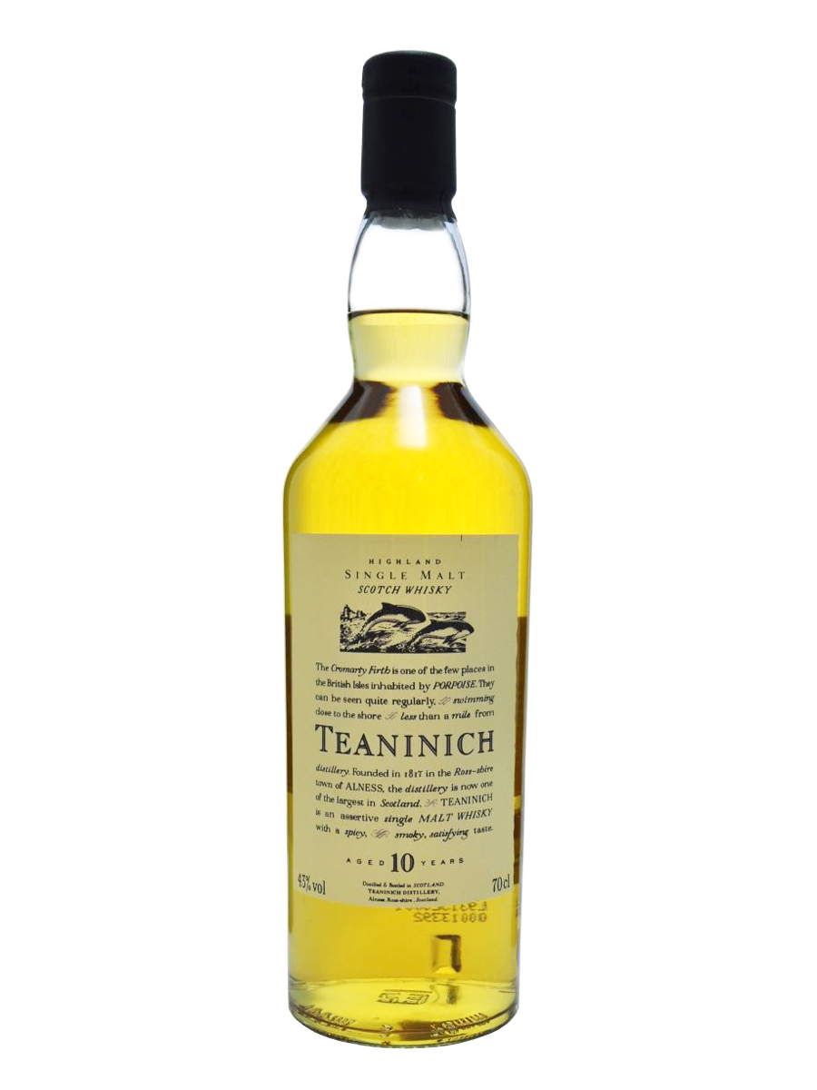 TEANINICH 10 YEAR  SINGLE MALT