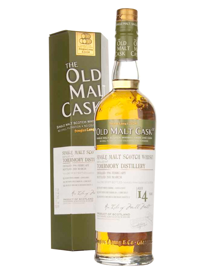 TOBERMORY 14 YEAR 1994 - 2008 OLD MALT CASK  SINGLE MALT