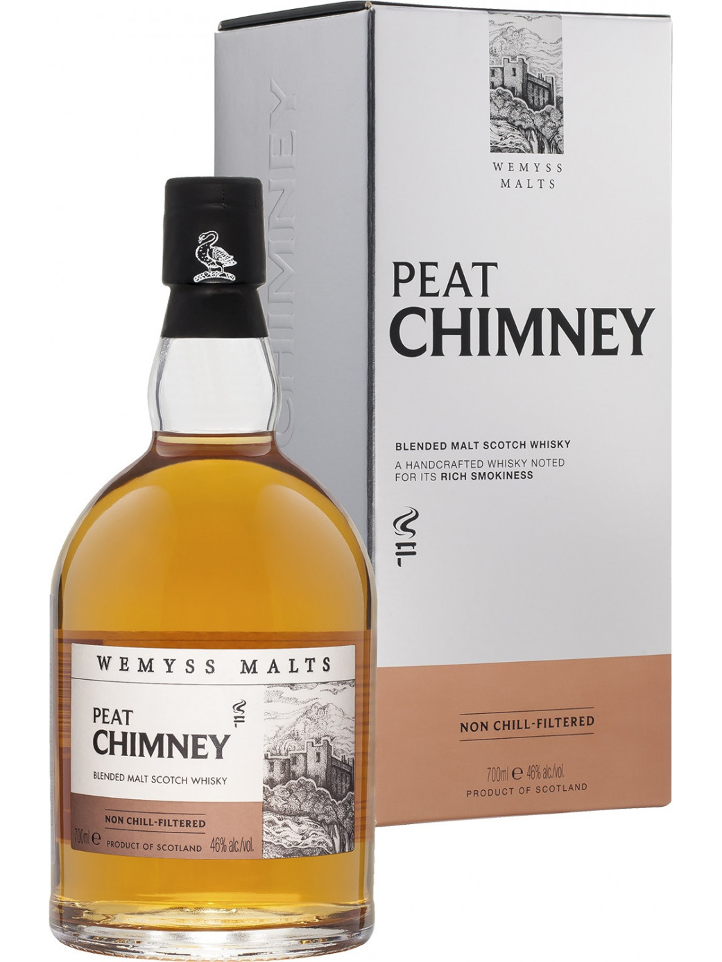 WEMYSS MALTS PEAT CHIMNEY blended malt