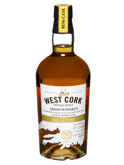 West Cork 12 YO Rum Cask