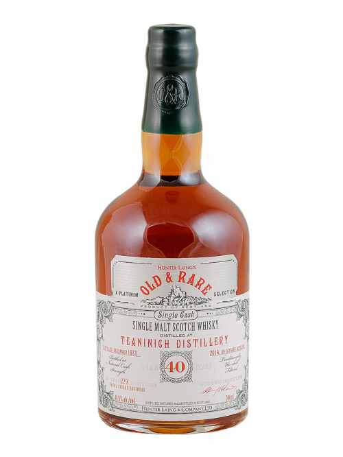 TEANINICH 40 YEARS 1973-2014 OLD & RARE single malt