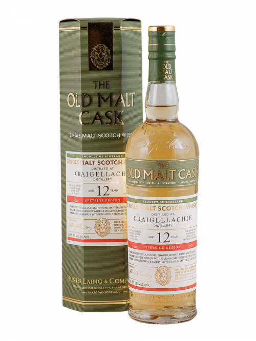 CRAIGELLACHIE 12 YEARS 2002-2014 OMC single malt