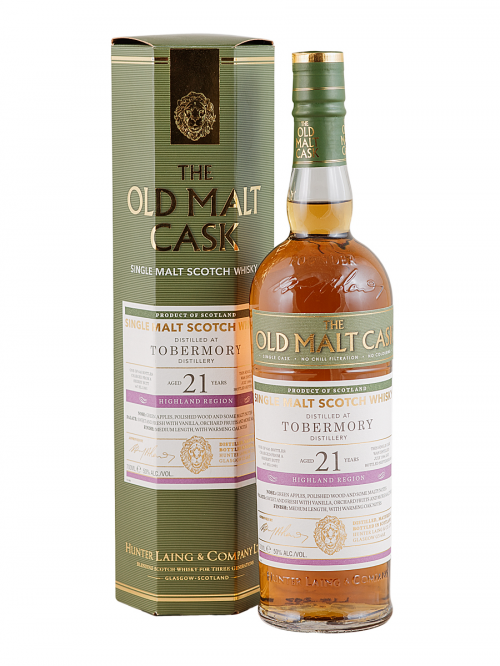 Tobermory  21 Year Old 1994-2015 Old Malt Cask