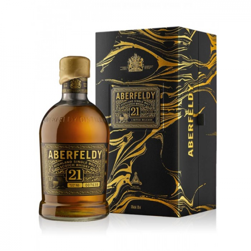 ABERFELDY 21 YEARS GIFT BOX