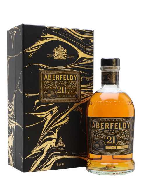 ABERFELDY 21 YEARS FESTIVE GIFT BOX
