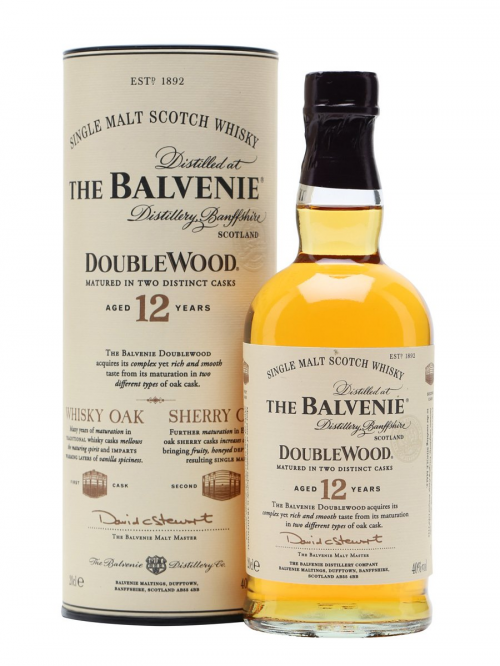 BALVENIE 12 YEARS DOUBLE WOOD SMALL BOTTLE