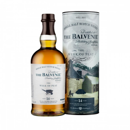 BALVENIE THE WEEK OF PEAT 14 YEARS