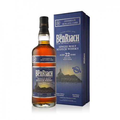 BENRIACH 22 YEARS MOSCATEL FINISH