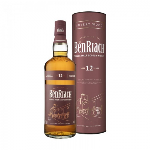 BENRIACH 12 YEARS SHERRY WOOD