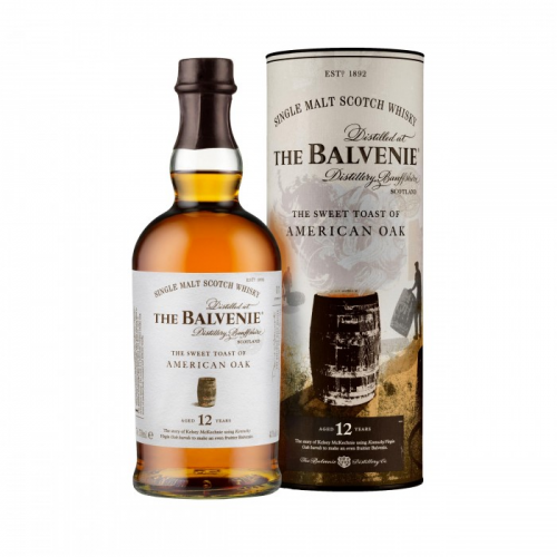 BALVENIE THE SWEET TOAST OF AMERICAN OAK 12 YEARS