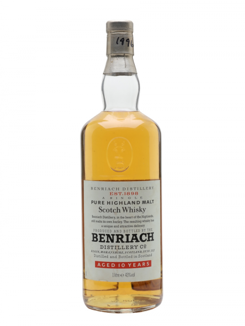 BENRIACH 10 YEARS LITRE